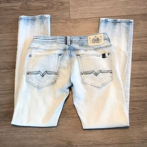 2/$40 Buffalo David Button light wash jeans 28/32